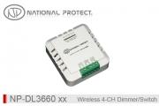 کنترلر 4 کانال هوشمند بی سیم- دیمر و سوئیچ