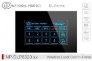 پنل لمسی کنترل روشنایی بی سیم - 16 کانال